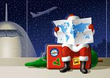 Santa&#39;s Christmas travel