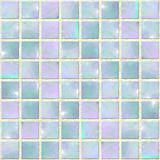 Blue Opal Mosaic Seamles