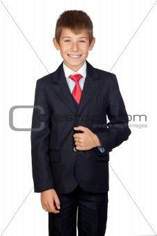 Little businessman