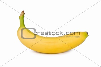 Banana isolated