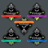 Vintage Wine Labels Set