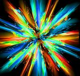 abstract color explode