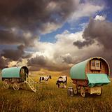 Gypsy Wagons, Caravans