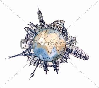glabal city planet