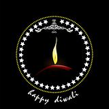 Diwali Greeting. Vector illustration