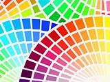 color spectrum background