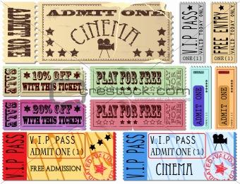Ticket Illustrations