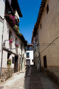 Street of Covarrubias, Burgos, Castilla y Leon, Spain