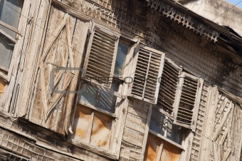 Shutters in Alepo, Syria