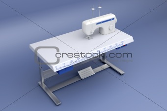 3d industrial sewing machine