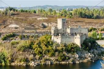 Castle of Almoural, Ribatejo, Portugal