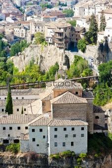 hanging houses, Cuenca, Castile-La Mancha, Spain