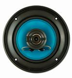 Blue loudspeaker