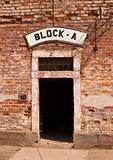 Door At Concentration Camp