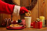 Santa Dunking Cookie