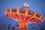 Carnival Swing Ride at Midway