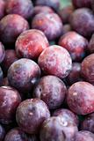 Pile of plums.