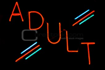 Adult Neon Sign