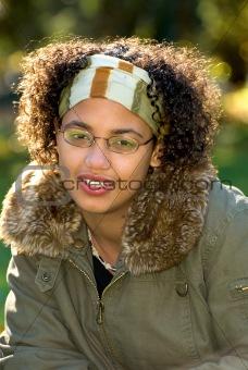 African american teen girl