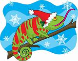 Christmas Chameleon