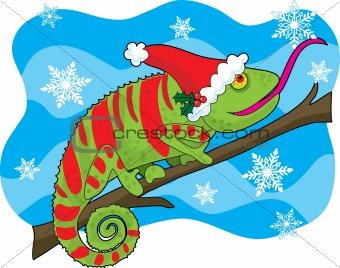 Christmas Chameleon