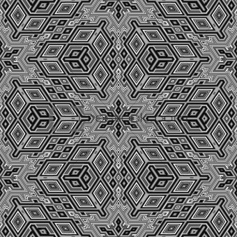Gray geometric abstract