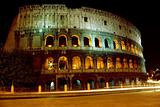 Colosseum at night, Rome, 2007