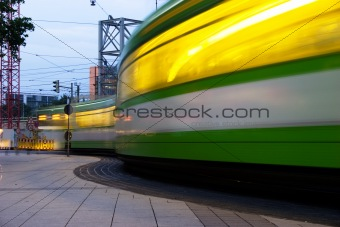 Tram traffic lights