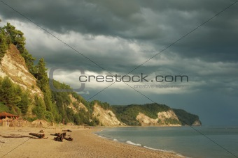 Black Sea's beach