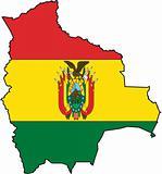 Map Bolivia- Vector
