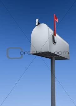 closed mailbox