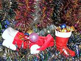 Christmas decoration and cup