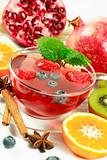 Winter fruit tea