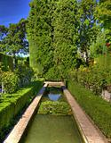 Artistic garden