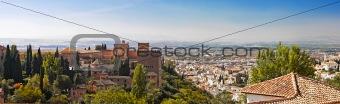Cityscape (Granada, Spain)
