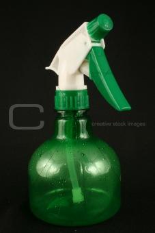 Green Spray Bottle