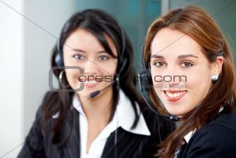 customer service girls