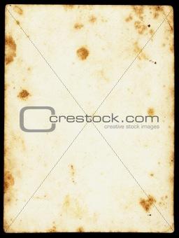 Blank vintage sepia paper