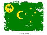 Cocos Island flag