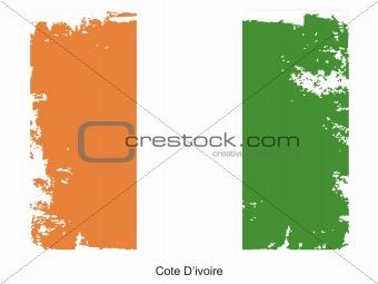 Cote D'lvoire flag