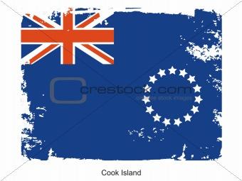 Flag cook island