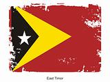 Flag of East-Timor