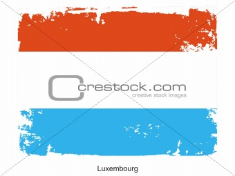 Luxembourg national flag