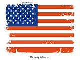 Midway Islands flag