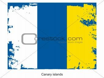 Canary islands falg