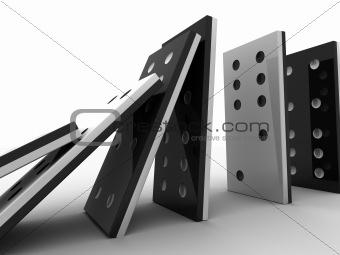 domino line