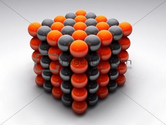 molecular cube
