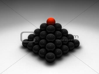 3d ball pyramid