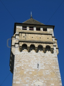 Ancient bridge tower