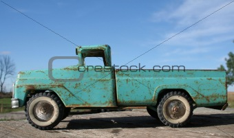 Old Toy Truck